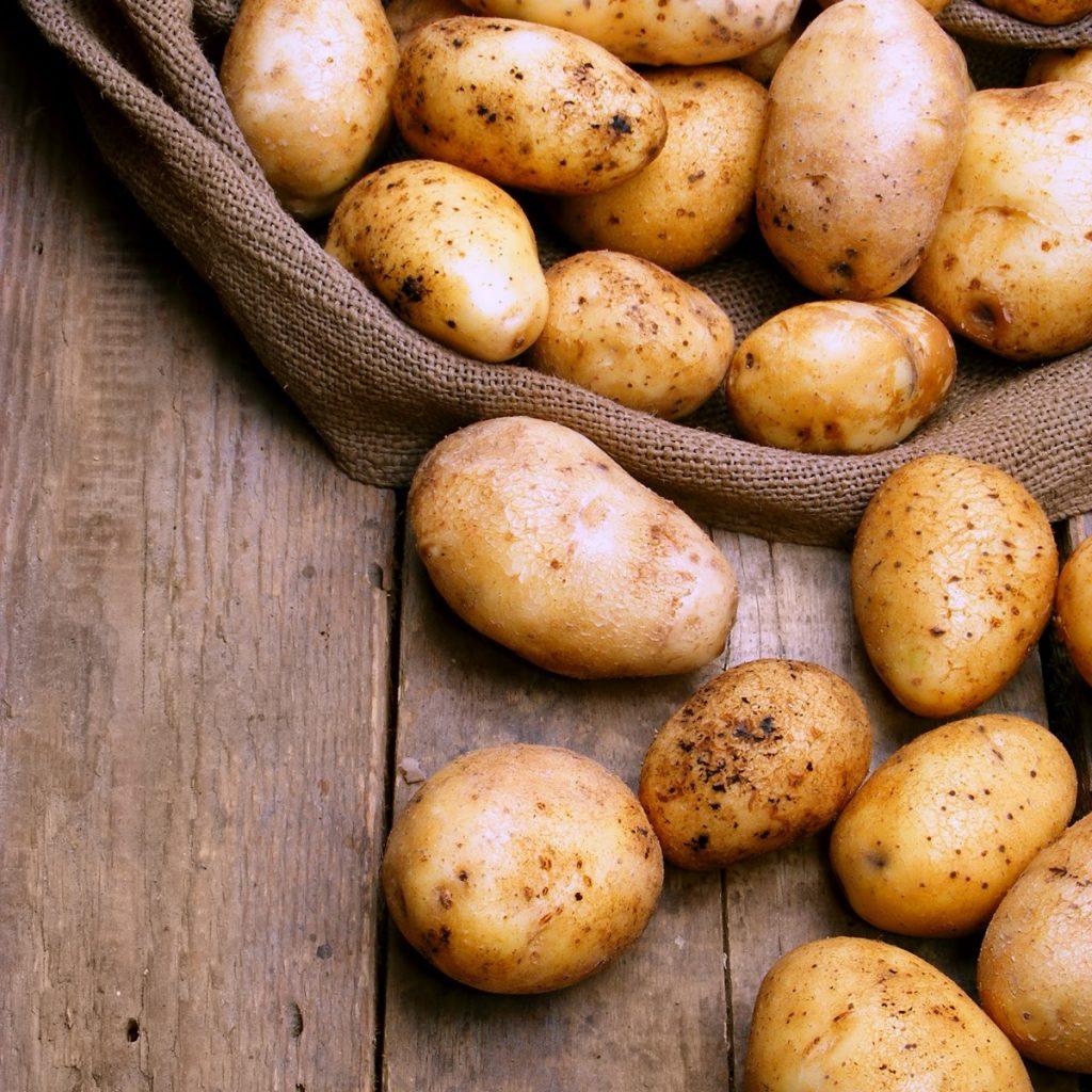 hunter fresh produce freshly picked pre packed potatoes