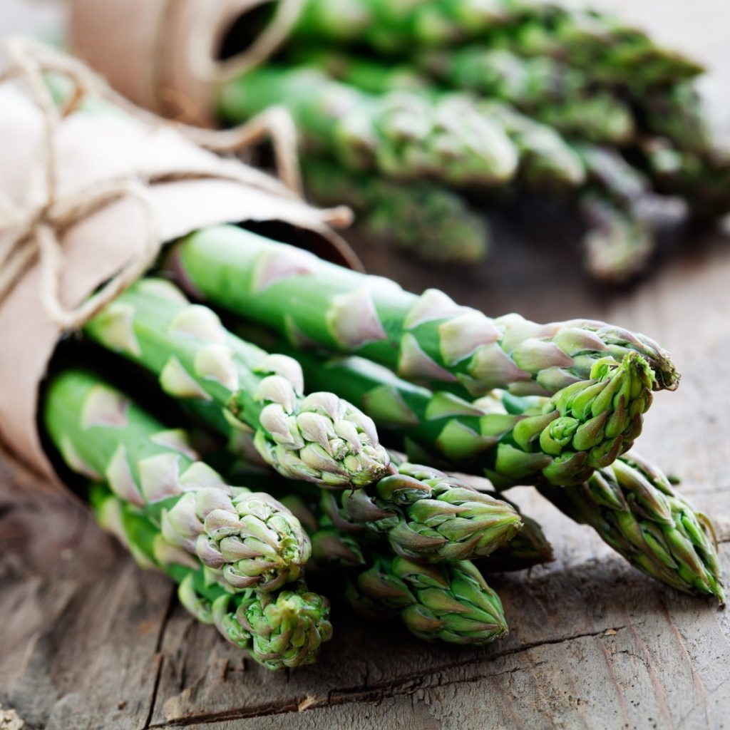 hunter fresh produce freshly picked asparagus
